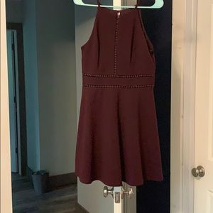 Dresses & Skirts - Maroon dress